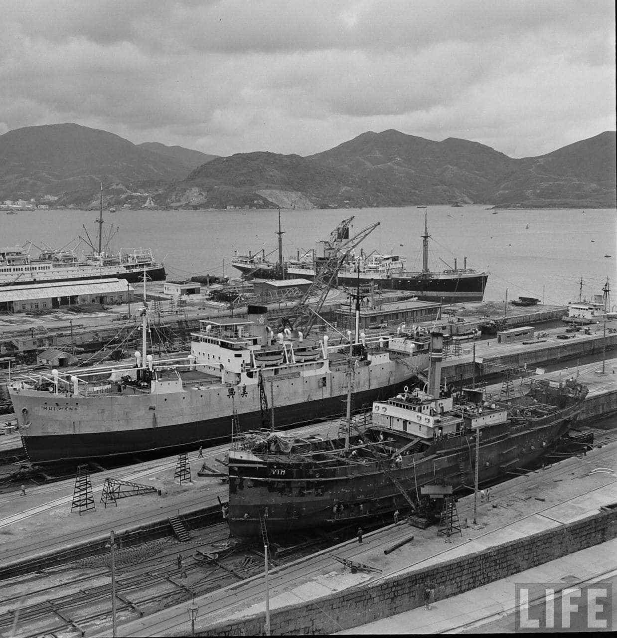 Historic photos of quarry bay taikoo dockyard and taikoo for Royal terrace quarry bay