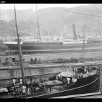 Taikoo Dockyard slipways and ships, Hong Kong - 1911