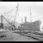 Taikoo Dockyard & Engineering Company shipbuilding berths, Hong Kong - 1919