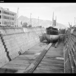 Steamship in dry dock at Taikoo Dockyard, Hong Kong - 1911