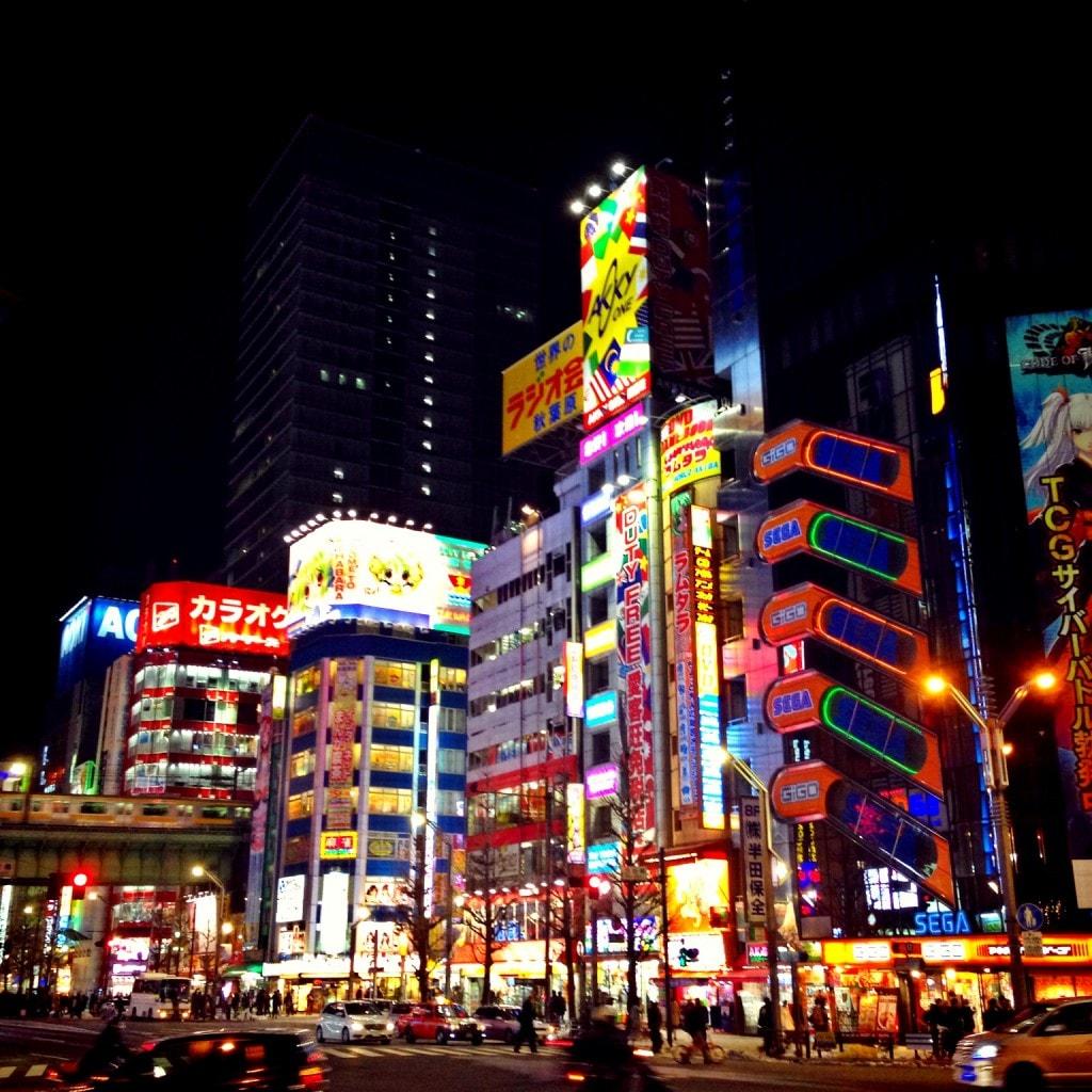 Akihabara  Neon