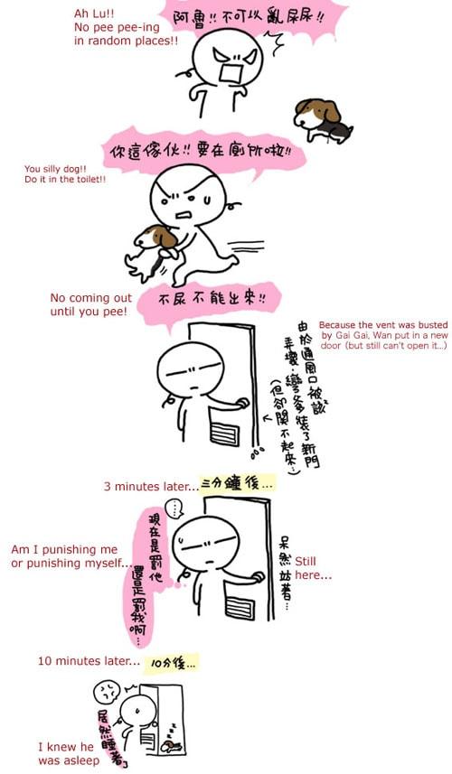 Wan's Comic Blog