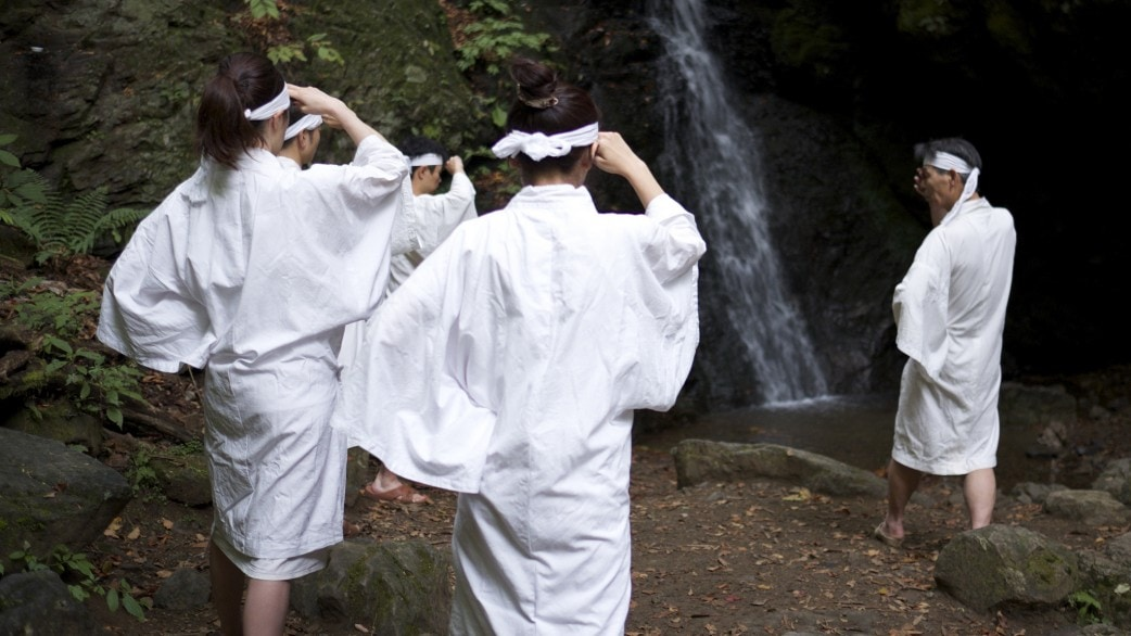 Mount Mitake Waterfall Meditation