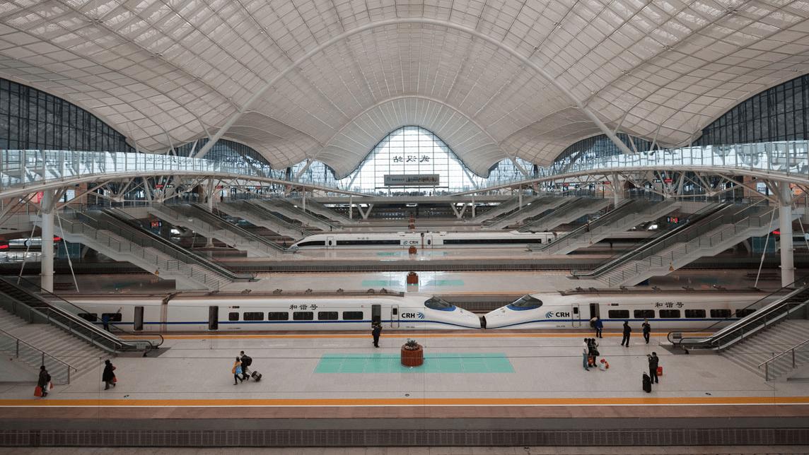 Guangzhou To Wuhan By Crh High Speed Train Randomwire